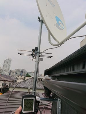 4K対応アンテナ交換